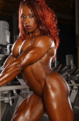 Black female bodybuilder nude girl sexy