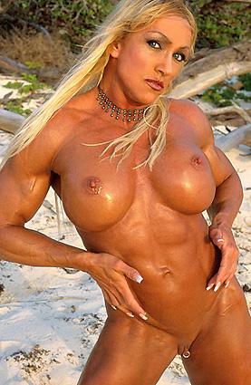 Sexy female bodybuilder porn