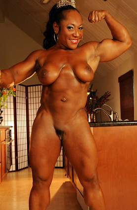 sexy female bodybuilders – nude naked female muscle videos