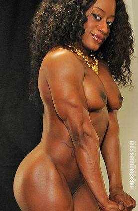 Sexy female bodybuilder porn