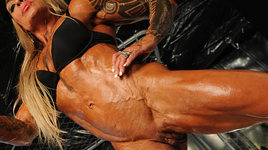 Naked female bodybuilder briana fucks her boyfriend - 2 part 9